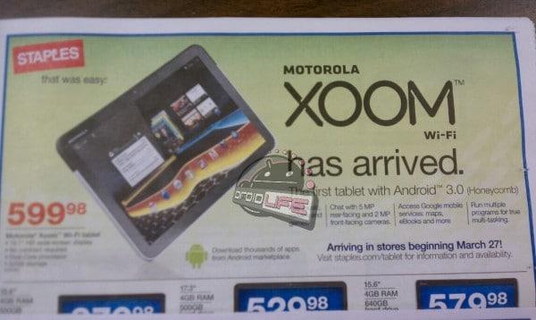 Motorola Xoon staples