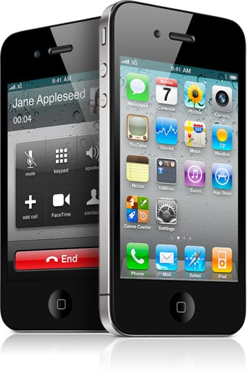 iPhone 4 smartphone