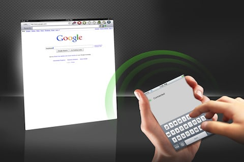 Use Your iPhone iPod Touch Keyboard On Your iPad Wirelessly With This App