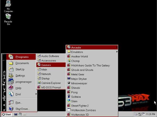 WinDos 3.1 PS3