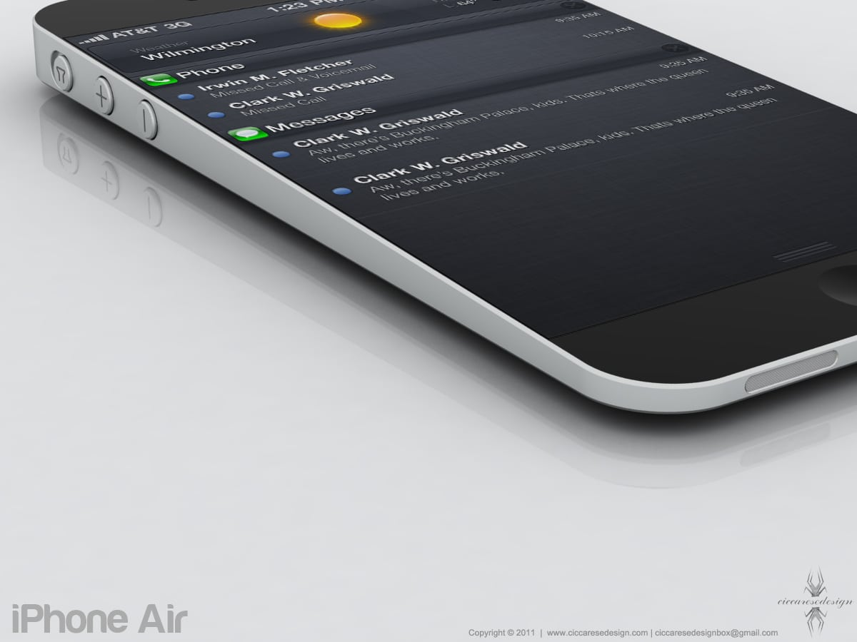 iPhone Air Mac