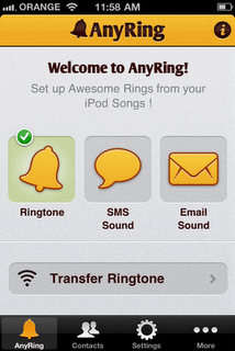 AnyRing iPhone