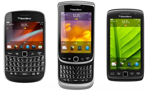 BlackBerry OS 7 Phones