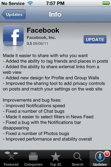 Facebook 3.5