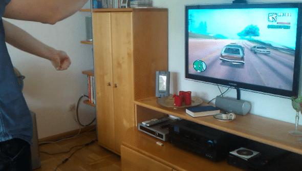 KinDriver GTA Kinect