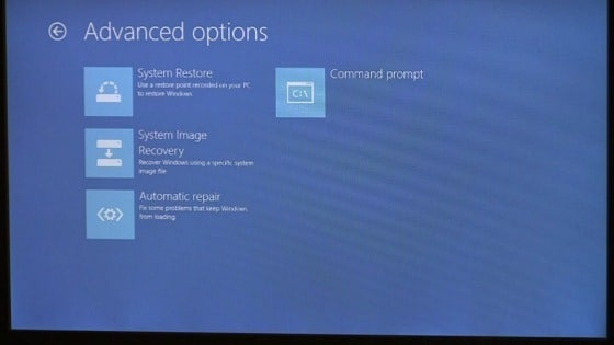 Windows 8 Advanced functionality