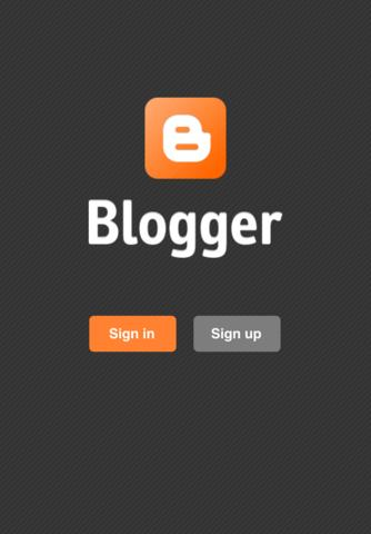 iOS Blogger