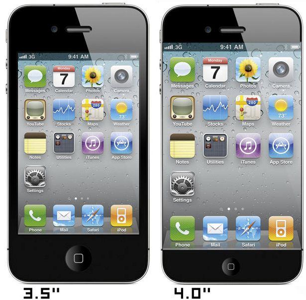 iPhone 3.5 VS 4 Inch