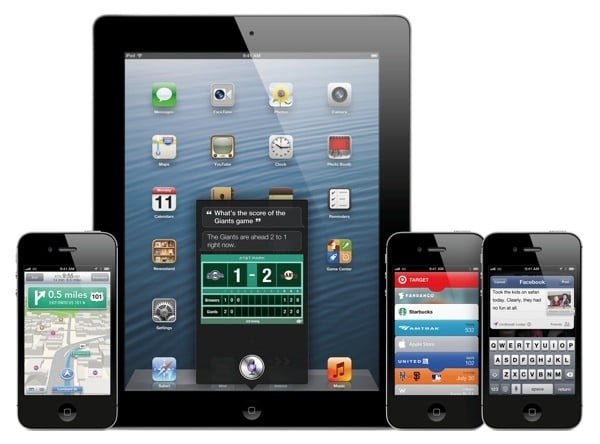 iOS 6 out now for iPhone, iPad, iPod touch (IPSW download links)