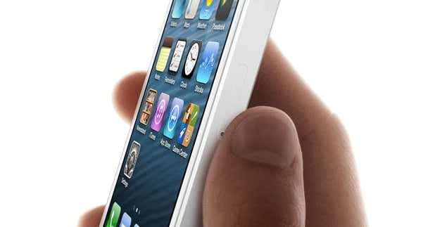 iPhone 5 nano sim slot