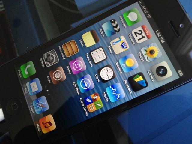 Jailbroken iPhone 5