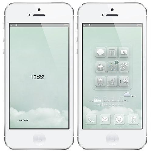 iPhone 5 WinterBoard