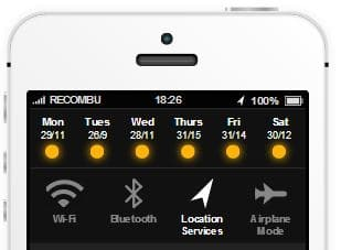 iOS 7 toggles