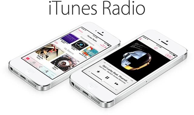 iPhone 5s iTunes Radio