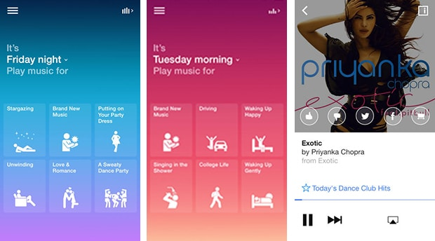 Songza muisc app