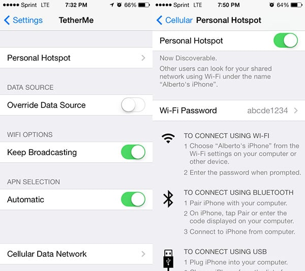 how to get a hotspot on your iphone