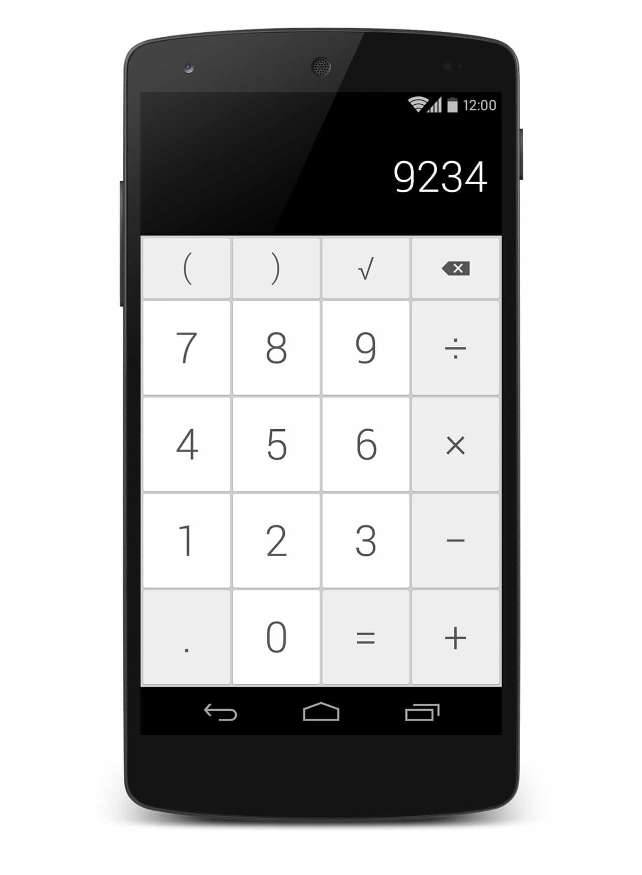 android 4.5 calculator