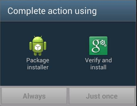 Android Package installer