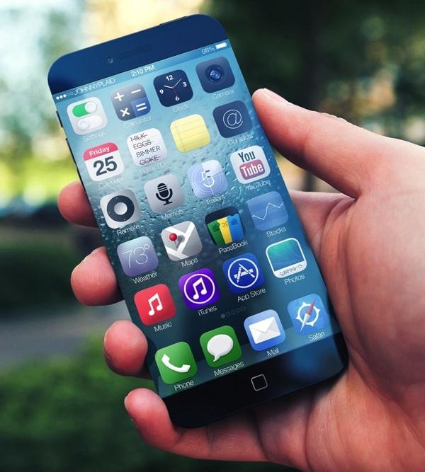bezel-less iPhone 6