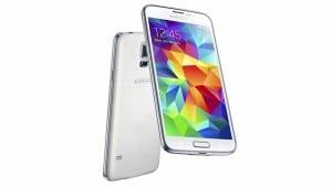 White Galaxy S5