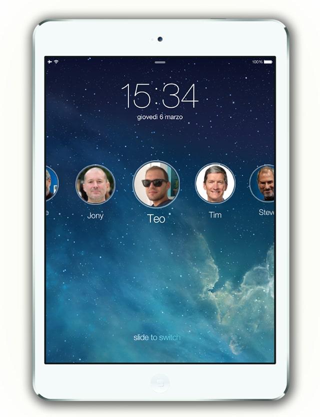 iPad multiple accounts