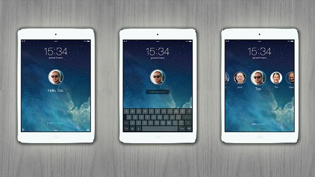 iPad multiple users
