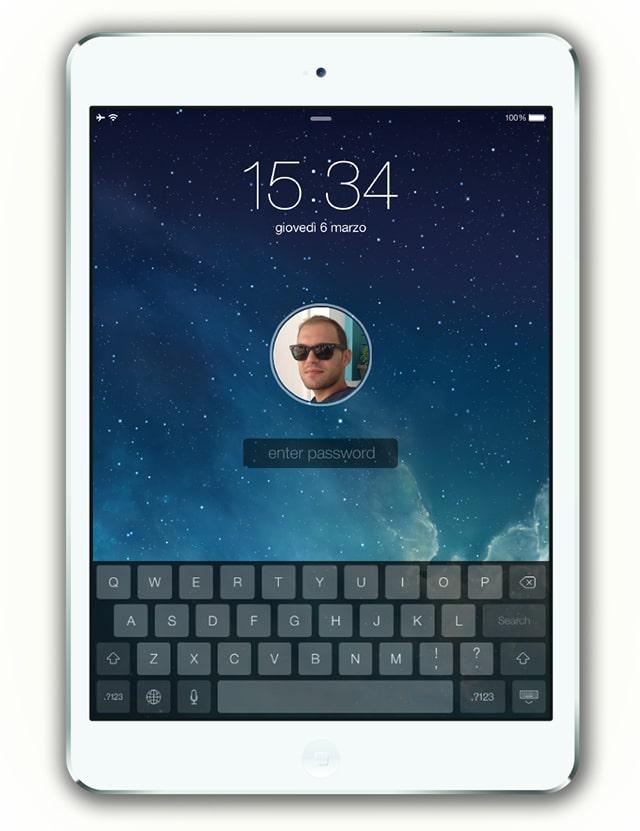 iPad user unlock