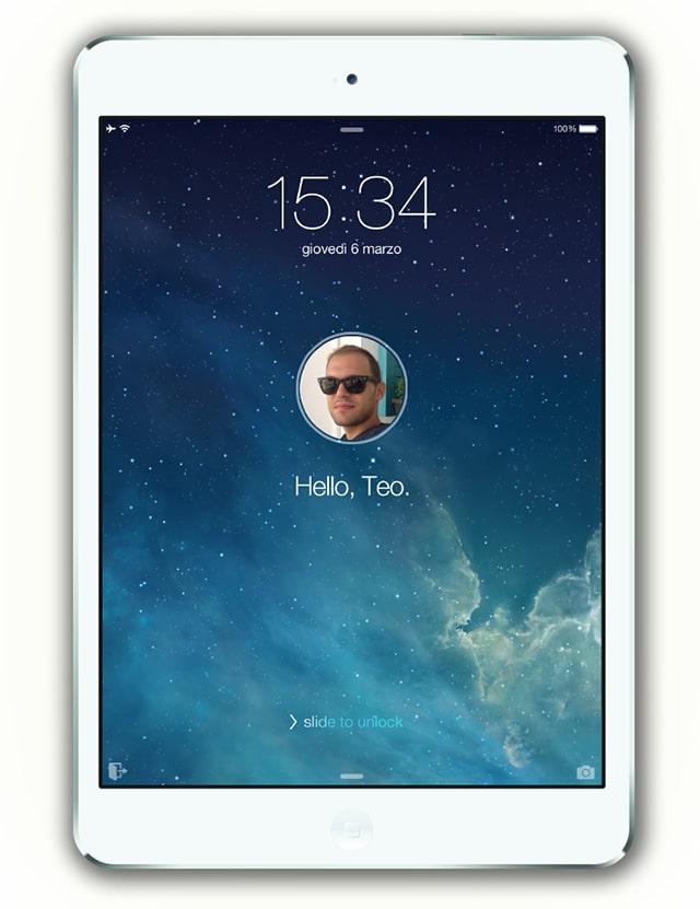 iPad user