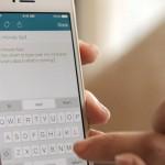SwiftKey iPhone keyboard