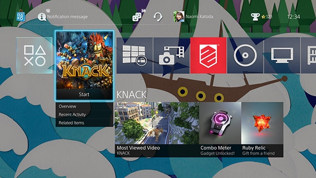 PS4 2.0 update theme