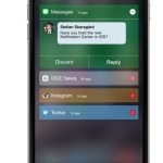 iOS 9 Notification Center concept