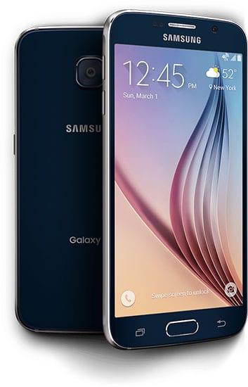 Black Galaxy S6