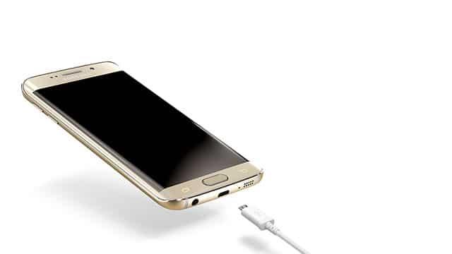 Galaxy S6 Edge charging
