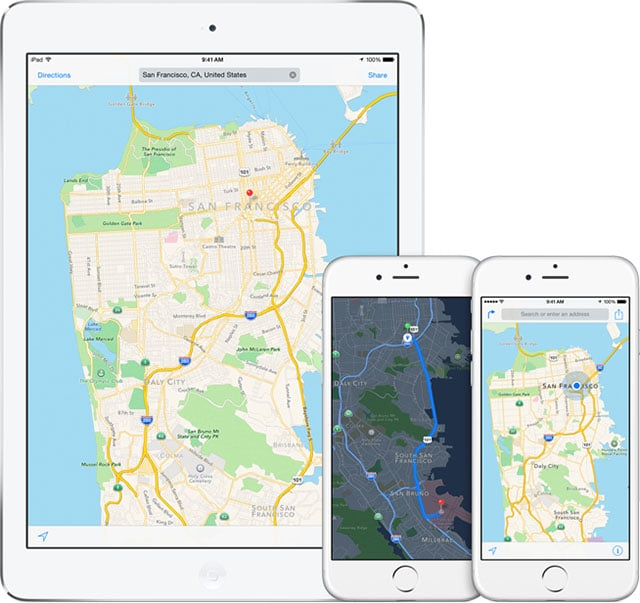 how to send location on iphone 6