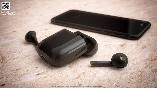 This is what Apple AirPods look like in Gloss Jet Black (Images)