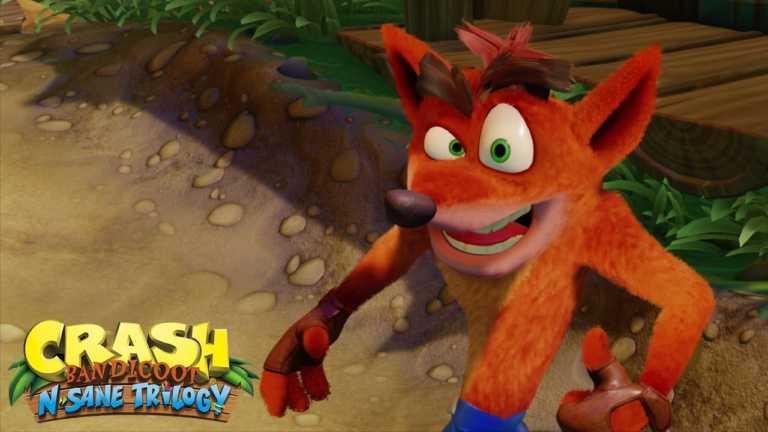 Sony shows Crash Bandicoot collection for PS4 (video trailer)