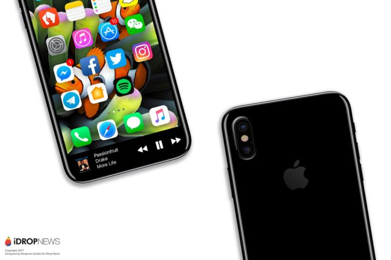iPhone 8 confirmed to be waterproof, have wireless charging