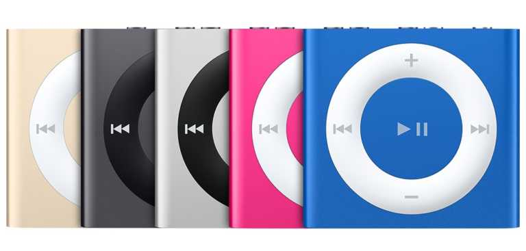 iPod nano and iPod shuffle discontinued by Apple's website