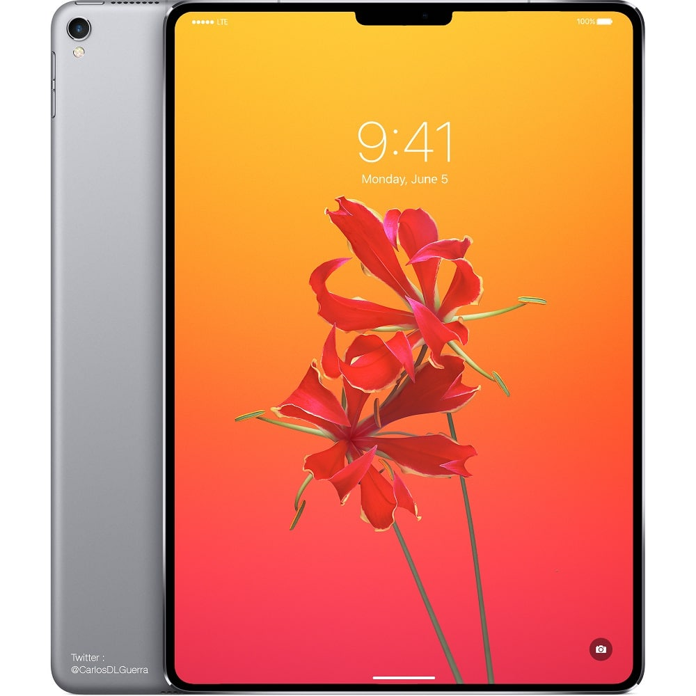 Redesigned Ipad Pro With Face Id Notch To Be Announced In
