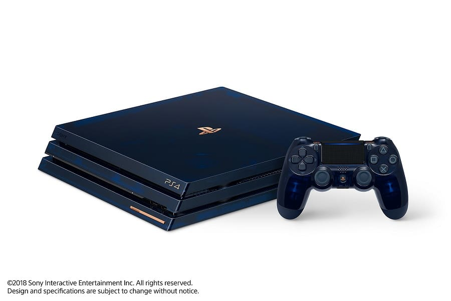 PlayStation 4 Pro 2TB Limited Edition Console - 500 Million Bundle